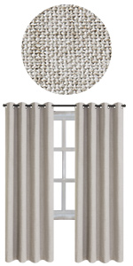 linen Blackout Curtains 100%