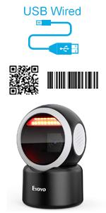 eyoyo desktop barcode scanner