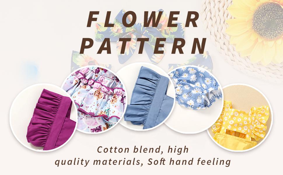 daisy floral print romper