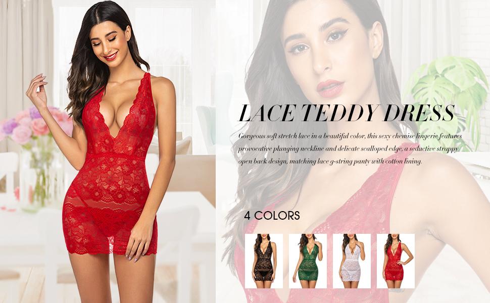 lace chemise babydoll