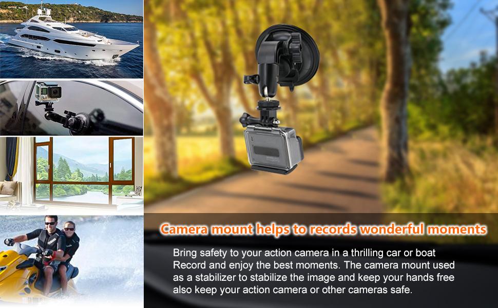 GoPro Hero 9 8 7 6 5 4 SJCAM Canon g7x Vlogging DSLR