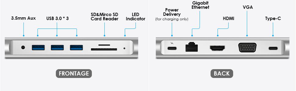 USB-C Universal Docking Station