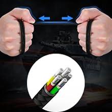 Premium Materials&Robust Audio Cable