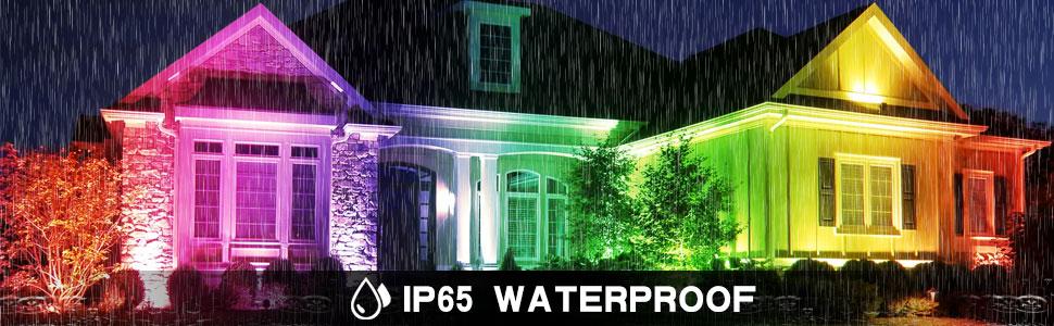 rgb flood light waterproof