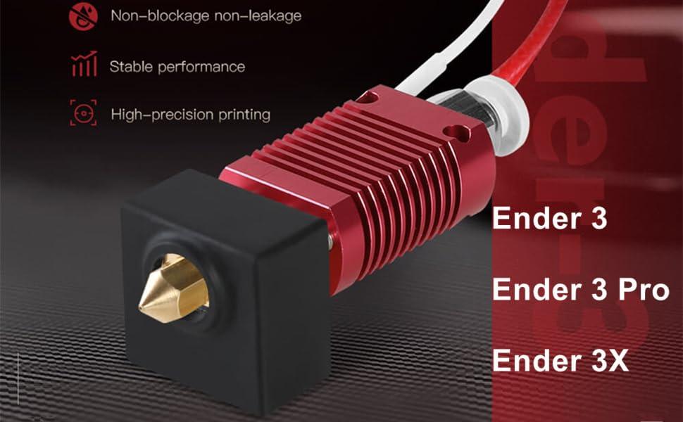 3D Extruder Hotend for Ender 3 /Ender 3 Pro/Ender 3X