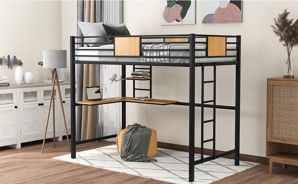 twin size loft bed
