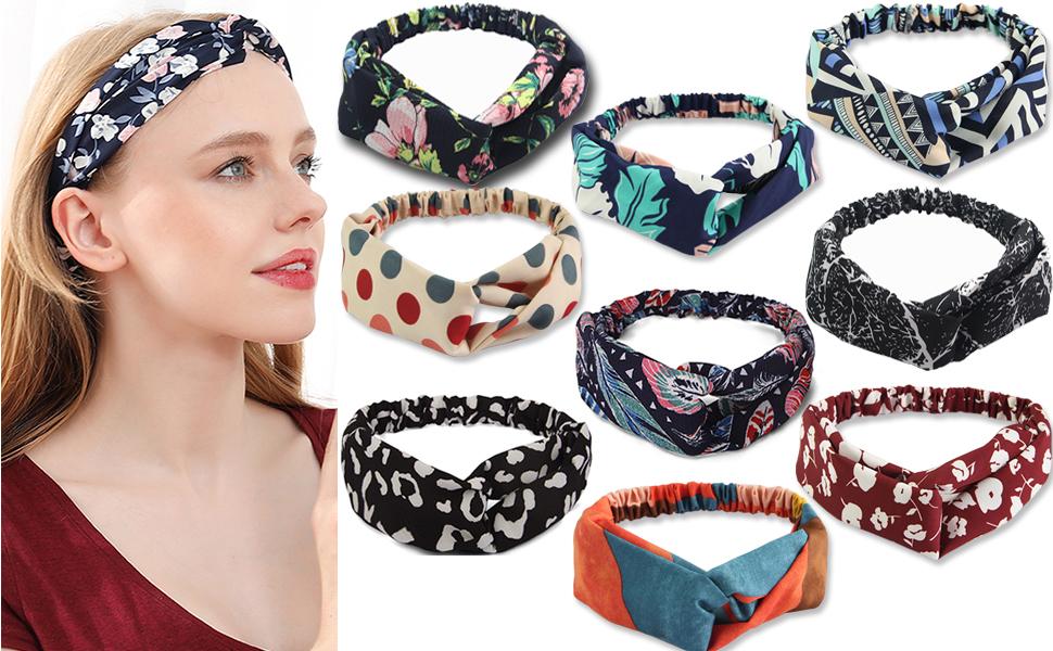 2020 boho headbands for women