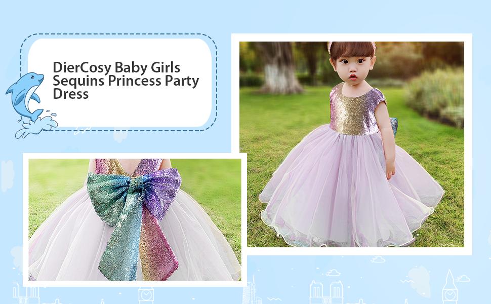 baby girls flower girl dress