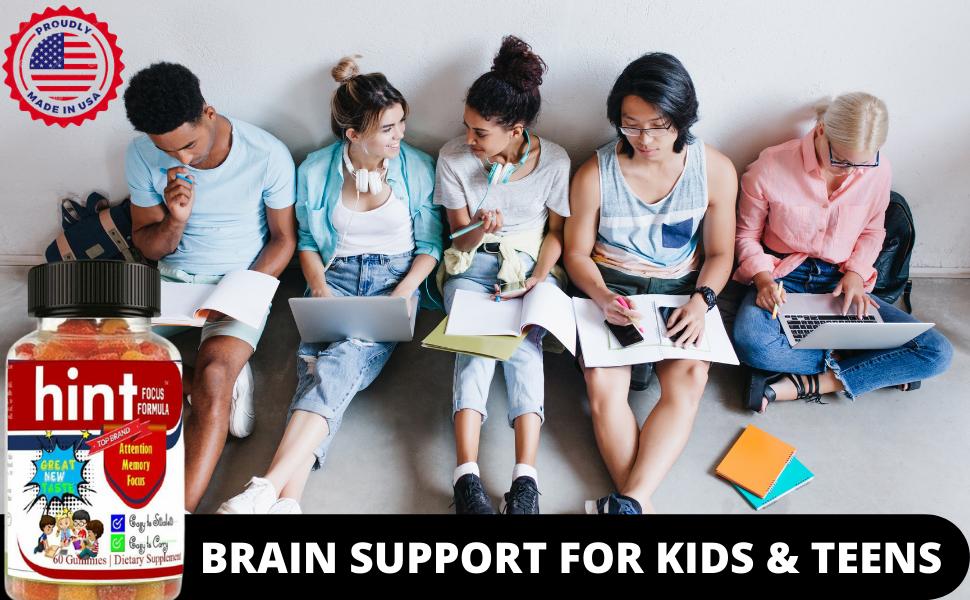 BRAIN VITAMINS FOR KIDS