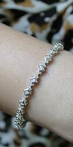 natural diamond fine jewelry bracelet fifth and fine