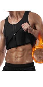 Bingrong Herren Fitness ärmellos flexibel Achselshirts