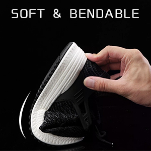 tennis shoes for women non slip shoes restaurant ladies black jogging soft stability running shoes