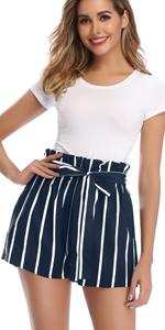 Striped Shorts Summer