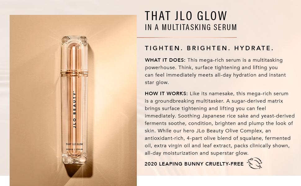 that Jlo glow serum