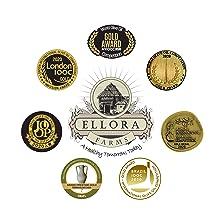 Ellora Farms Gold Medals