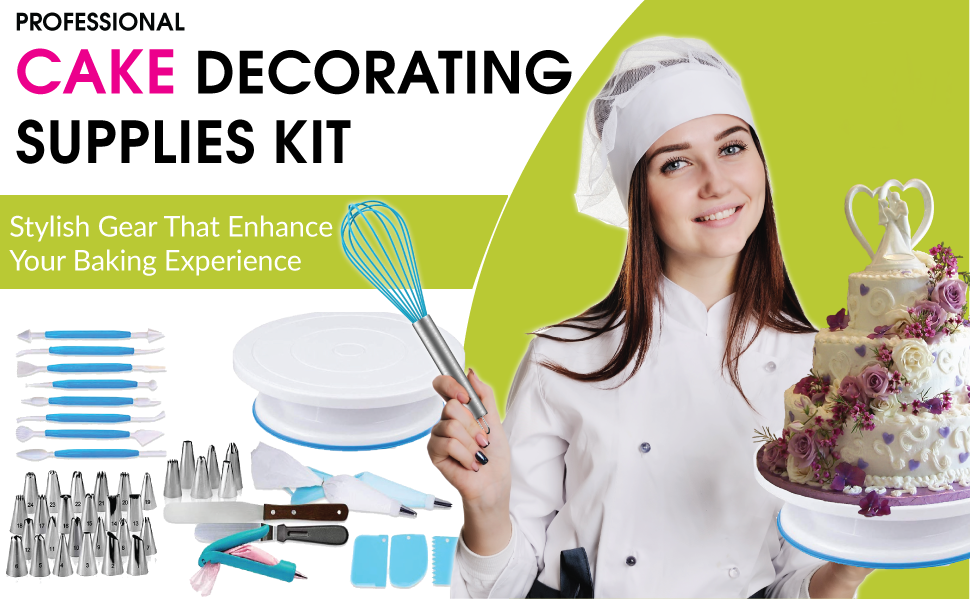 piping bags and tips piping tips cookie decorating supplies baking rotating cake stand cake decorati