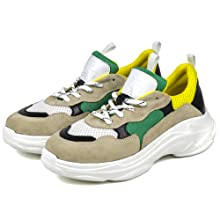 lemon yellow sneakers dasti sole havy duty zapatos de mujer