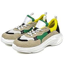 lemon yellow sneakers dasti sole havy duty zapatos de mujer