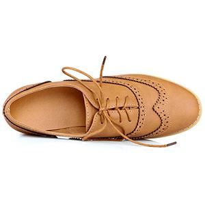 low heel brogues