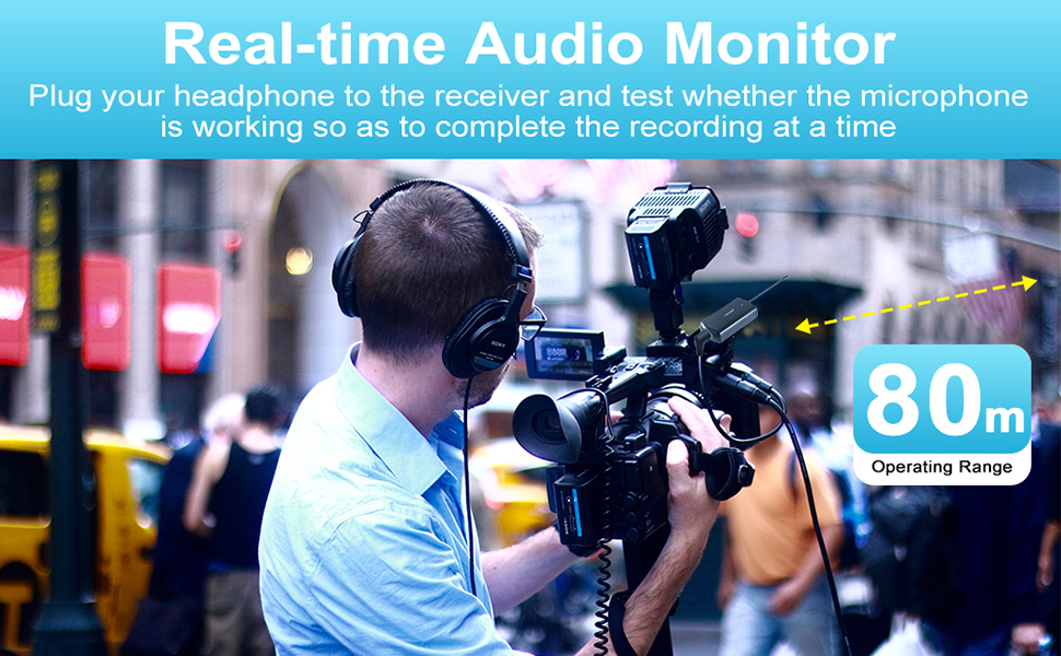 real-time audio monitor