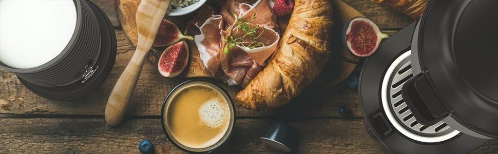 Breakfast Coffee Machine Milk Frother