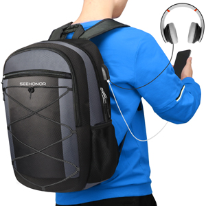 Travel Laptop Backpack Water Resistant Anti-Theft Bag 15.6 Inch Computer Business Backpacks School