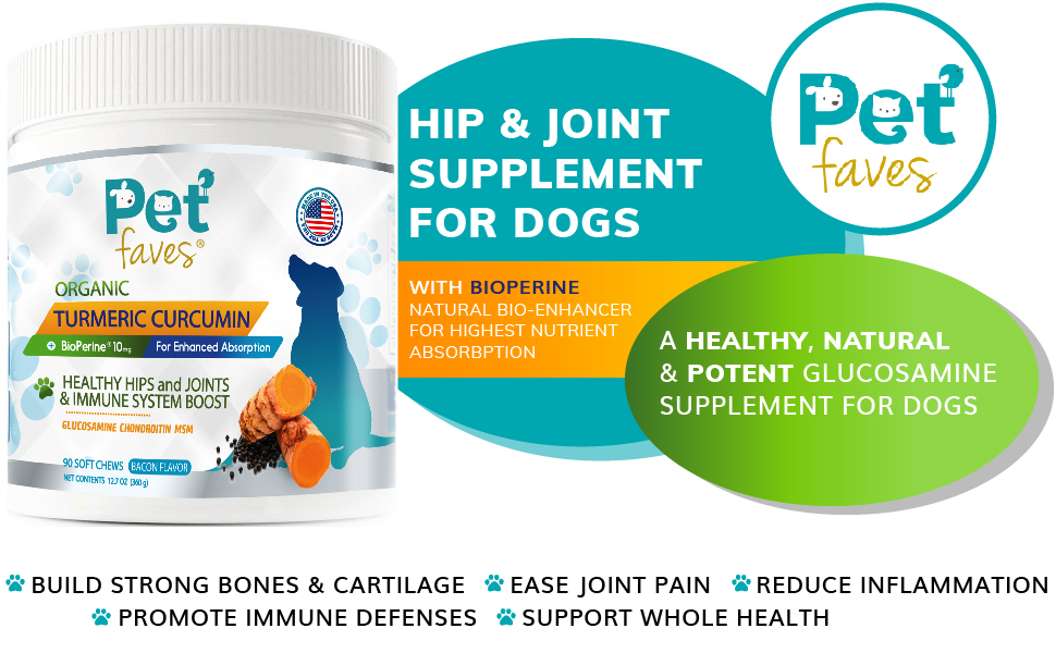 PET FAVES HIP AND JOIN SUPPLEMENT FOR DOGS