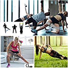 resistance bands for leg and butt fitness bands hip bands  workout bands resistance legs and butt