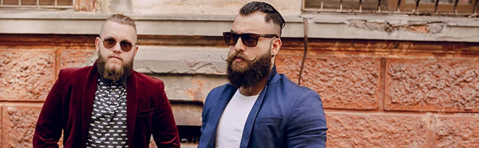 striking viking, striking viking beard wash, beard wash set, beard shampoo, beard conditioner men