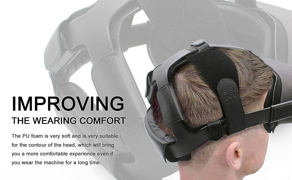 Oculus quest headband strap,headset strap,vr strap replacement,oculus head strap padding