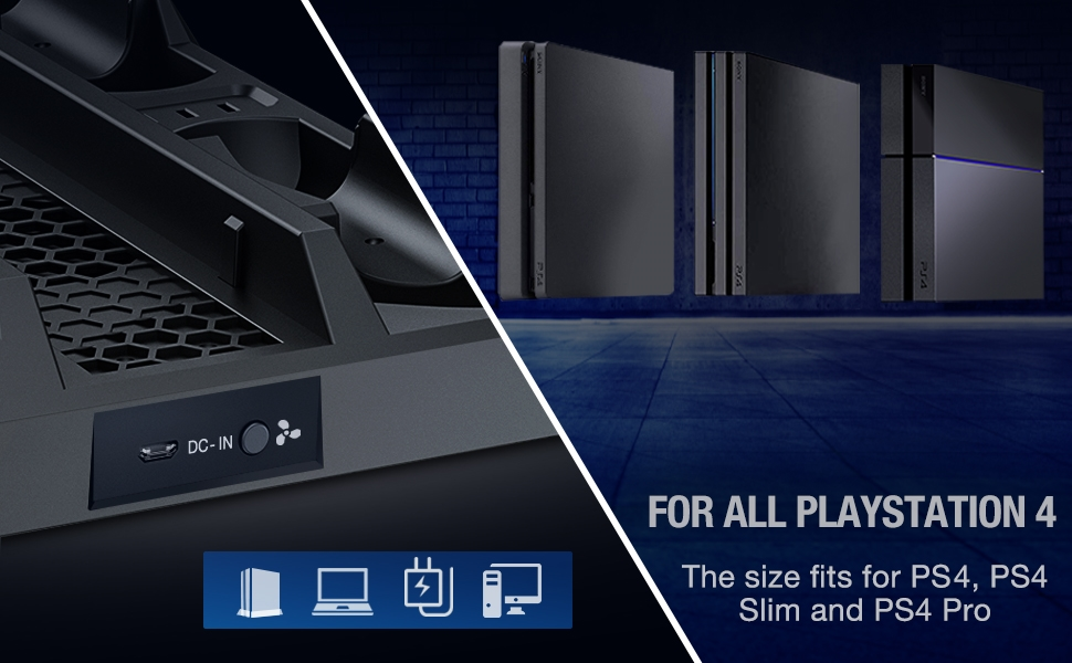 PS4 stand details