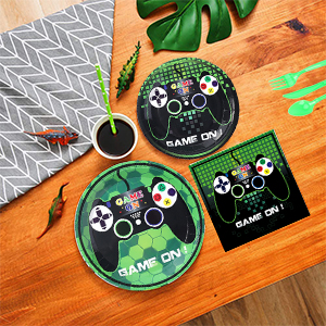 Party Decors Includes Game Plates