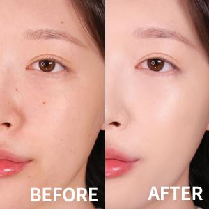 Skin beautifully illuminates all day long