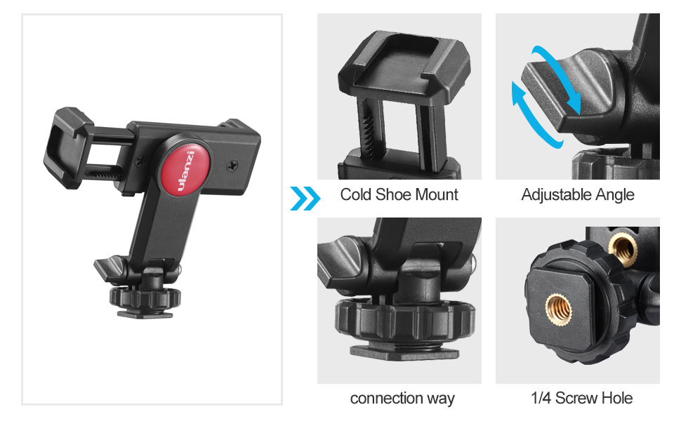iphone tripod mount clip adapter