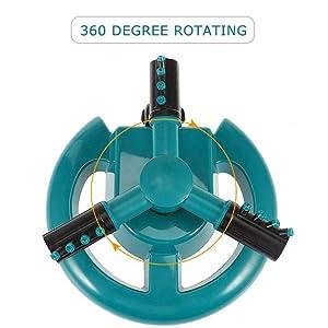adjustable rotating sprinkler