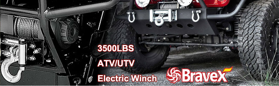 OPENROAD Electric Winch Mount,ATV Winch Plate Cradle,Winch Mounting Plate with 5//8 inch Trailer Hitch Pin Lock-3 Keys Winch Mounting Kit