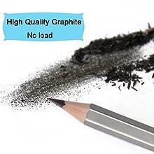 sketch pencils graphite