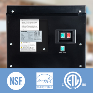Back switch and certificate