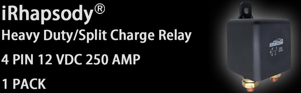 4PIN 250AMP RELAY