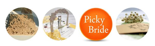 Picky Bride logo