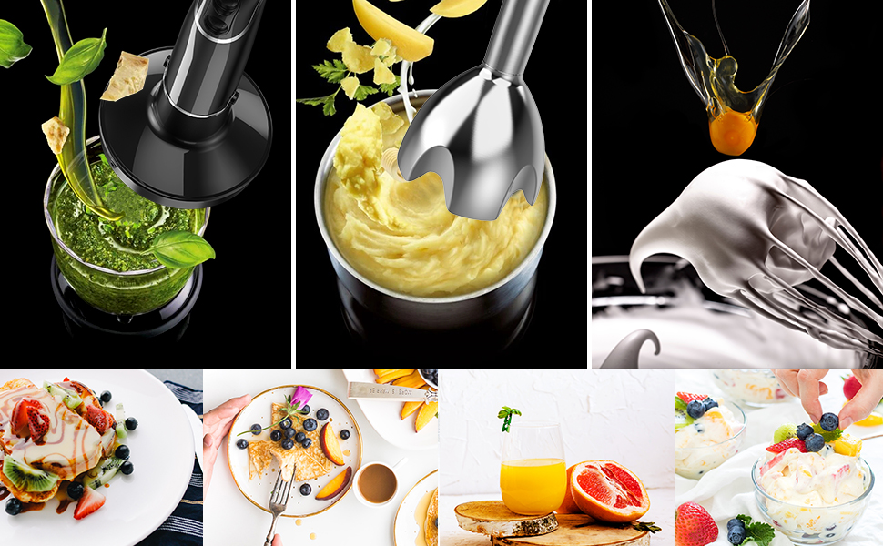 KOIOS smart Electric 4-in-1 Hand Immersion Blender 3