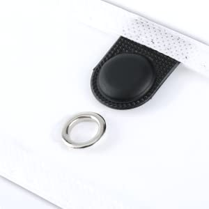 magnet two point magnetic dry erase pocket sleeves job ticket holders cubicle keepers reusable black