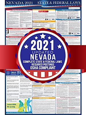 nevada 2021 labor law poster