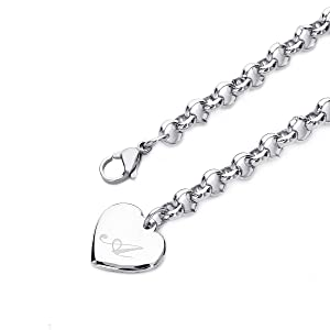 Initial Charm Bracelets