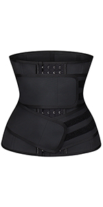 4 Hooks Waist Trainer with 2 Belts