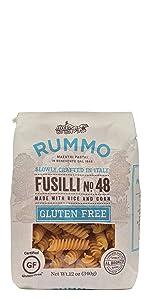 Rummo Pasta Gluten Free Fusilli No. 48