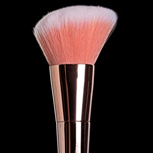 angled blush and contouring brush makeup brushes