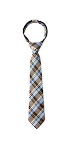 spring notion, zipper, ties, plaid