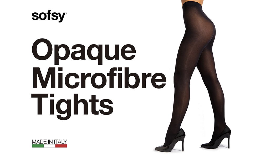 sofsy Opaque Microfibre Tights
