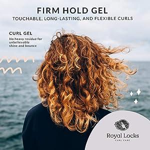 Royal Locks Curl Gel with Marula Oil